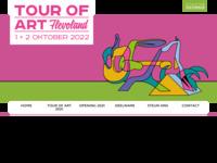 TOUR OF ART FLEVOLAND, voorheen A T E L I E R R O U T E Lelystad, wordt elk jaar in oktober gehouden. Ik neem deel en heb eerder deelgenomen aan deze professioneel georganiseerde route. Vanaf 2016 wordt de route op verschillende locaties georganiseerd met kunstenaars uit heel Flevoland.