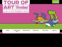 <p>De site van Tour of Art Flevoland (voorheen Atelierroute Lelystad) met informatie over de deelnemende kunstenaars.&nbsp;Tour of Art Flevoland&nbsp;is een jaarlijks evenement in het eerste weekend van oktober. Deelgenomen in 2007, 2008, 2009 en 2012.</p>