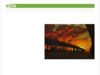 Sfeervolle schilderijen met door mensenhanden kunstmatig toegevoegde elementen aan het landschap.