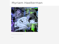 <p>werken en info van Myriam Haelterman</p>