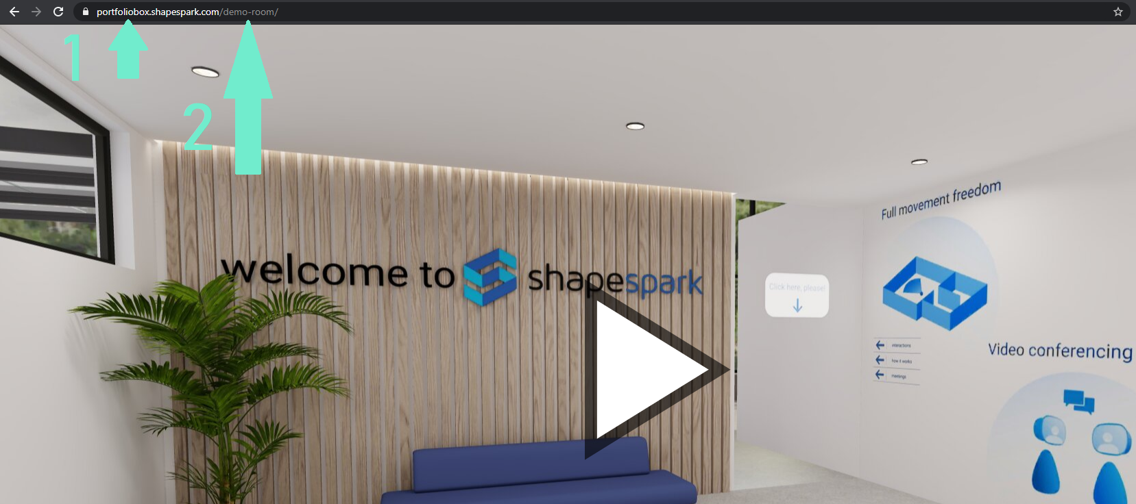Get the username and scene name from ShapeSpark