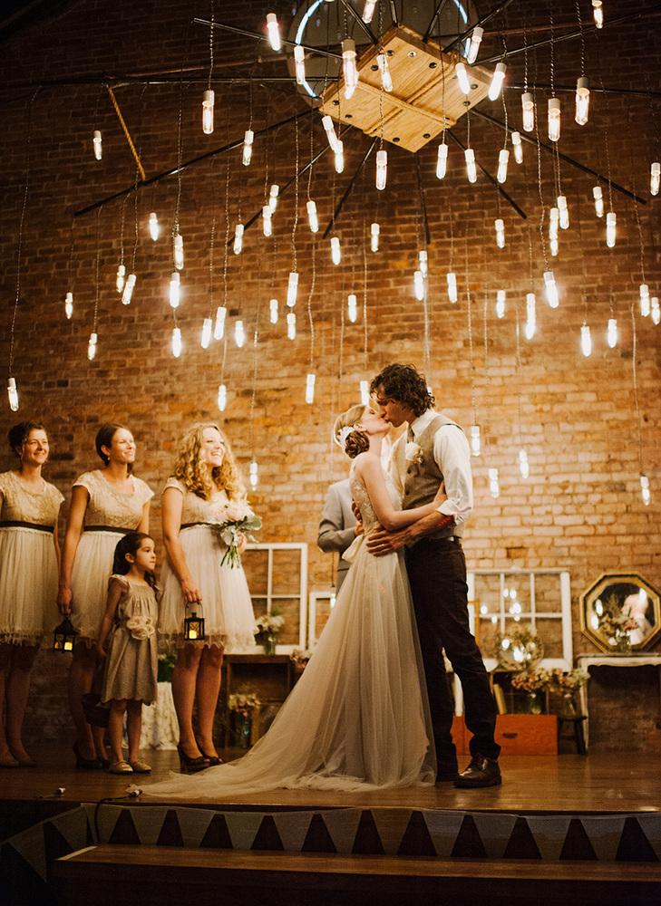 iluminación de vuestra boda bonita
