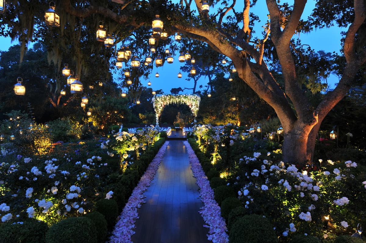 iluminación de vuestra boda velas