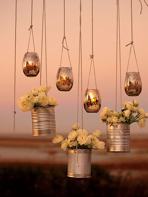 iluminación de vuestra boda latas