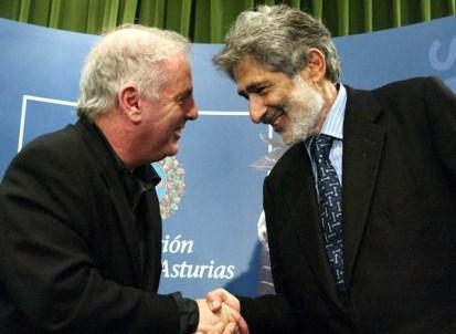 Daniel Barendoin y Edward Said fundadores de la West-Eastern Divan Orchestra