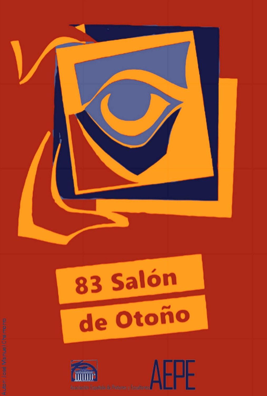 Cartel de la 83 edición del Salón de Otoño