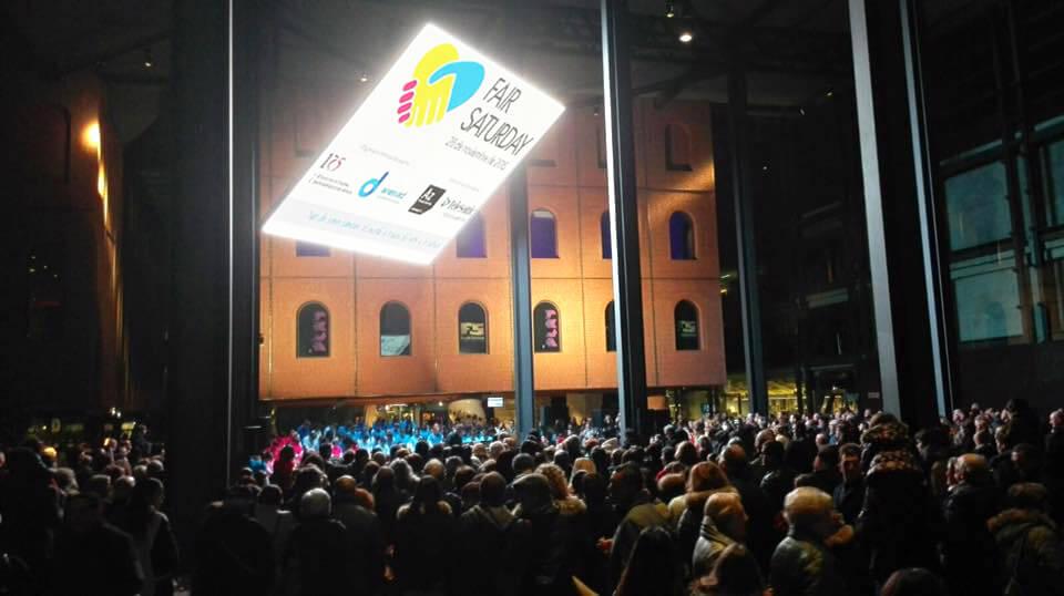 La Sociedad Coral de Bilbao en su concierto de Fair Saturday 2015