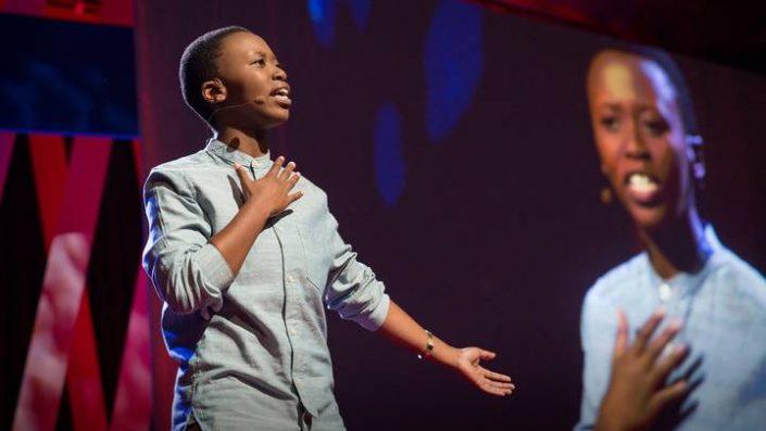 Lee Mokobe en las TED Conferences