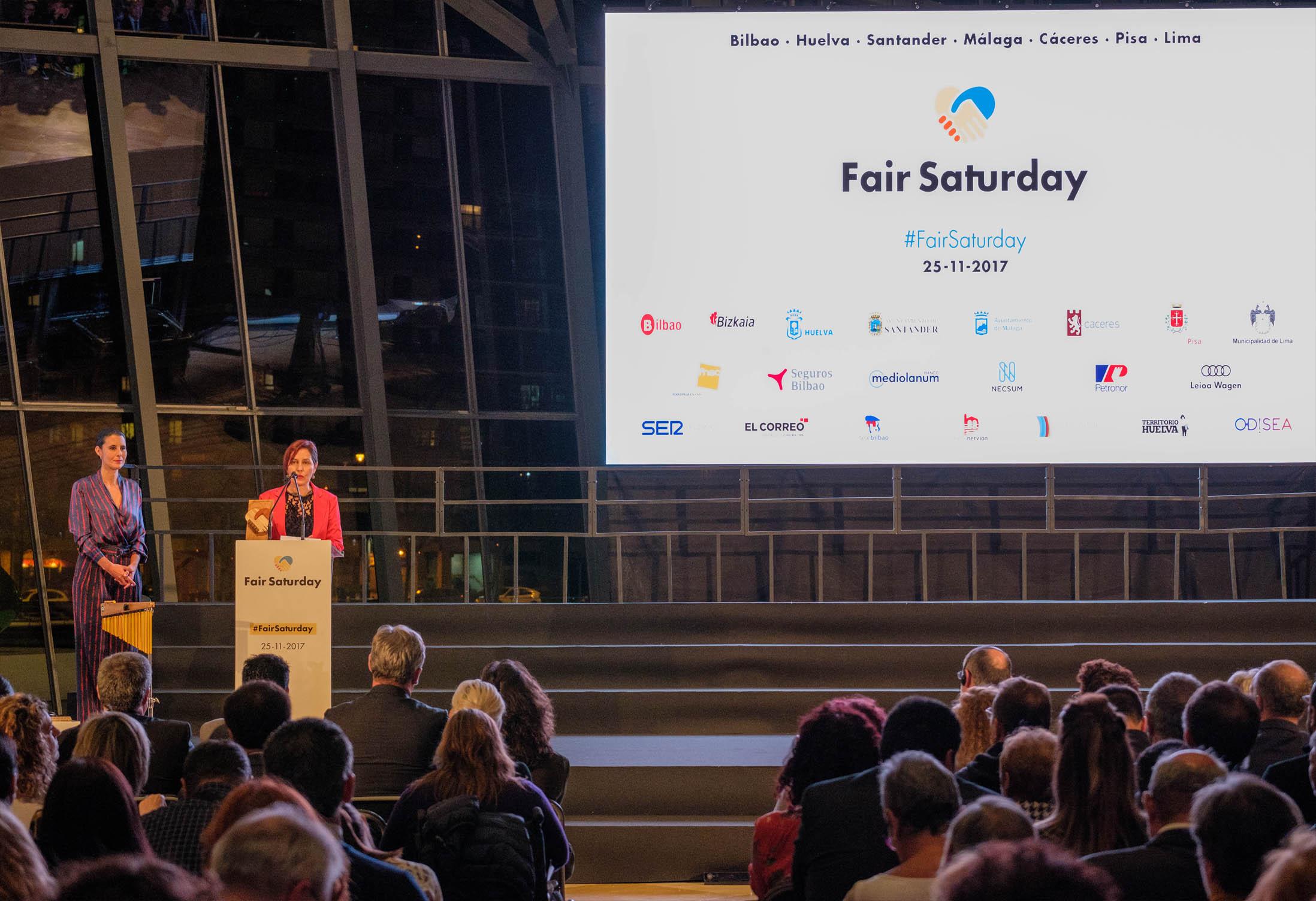 La Fundación Nacional Batuta recoge el premio Fair Saturday 2017