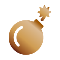 Bomba bronzo - Ottieni 80 punti