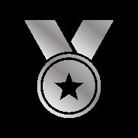 Medaglia argento - Raggiungi il secondo posto