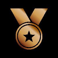 Medaglia bronzo - Raggiungi il terzo posto