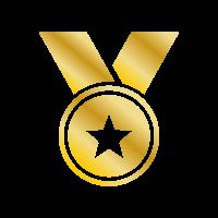 Medaglia oro - Raggiungi il primo posto