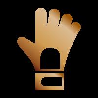Portiere bronzo - Portiere imbattuto per 3 partite di fila