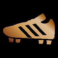 Scarpa bronzo - Due assist in una giornata