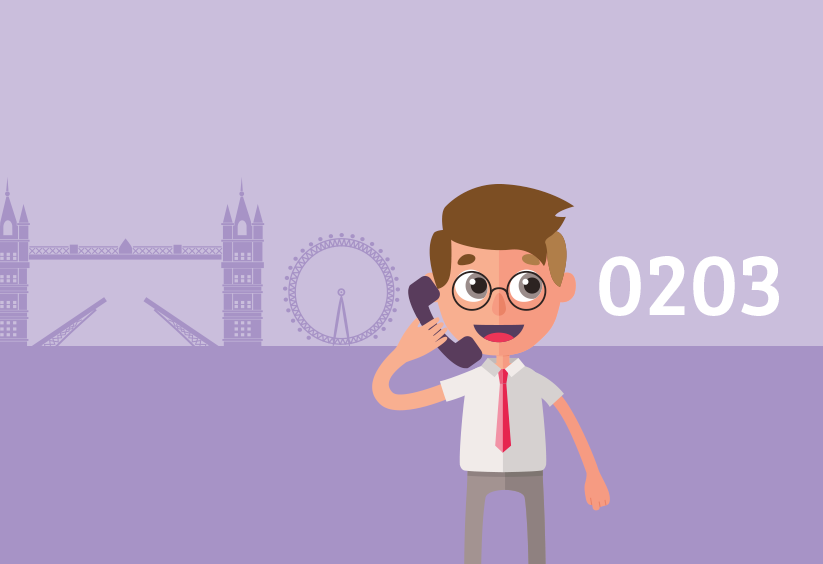 Using an 0203 phone number to help establish your London business presence