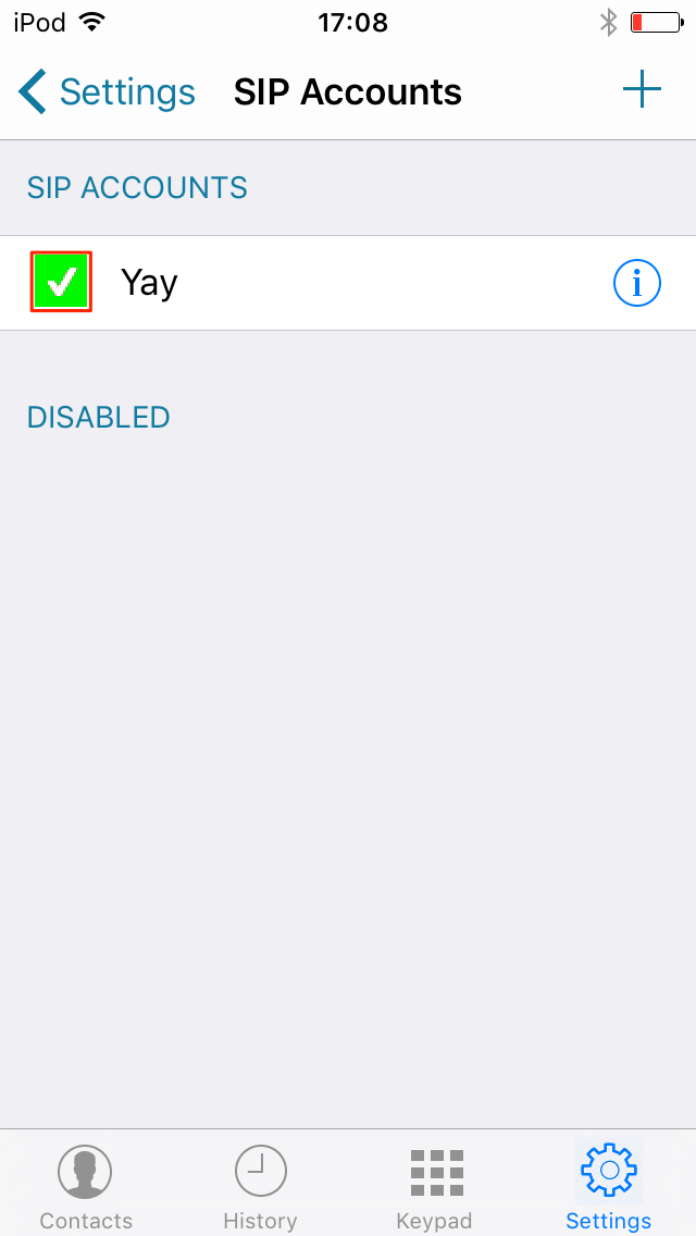 Session Chat iOS Step 3