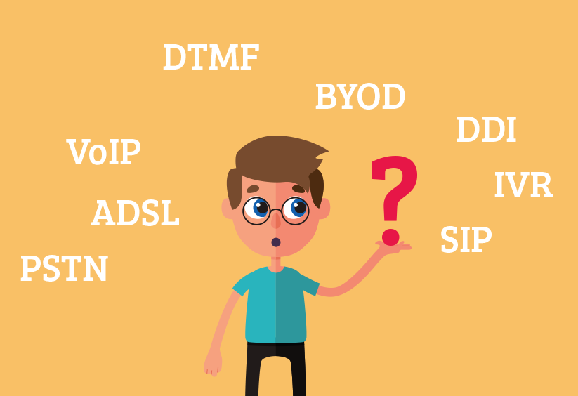 VoIP telephony abbreviations explained by your provider