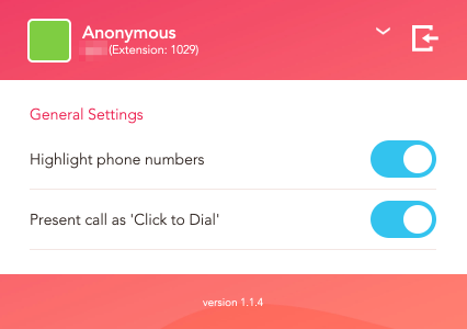 click2dial features