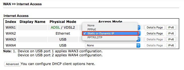 Configure Draytek router with a Virgin SuperHub | Yay com