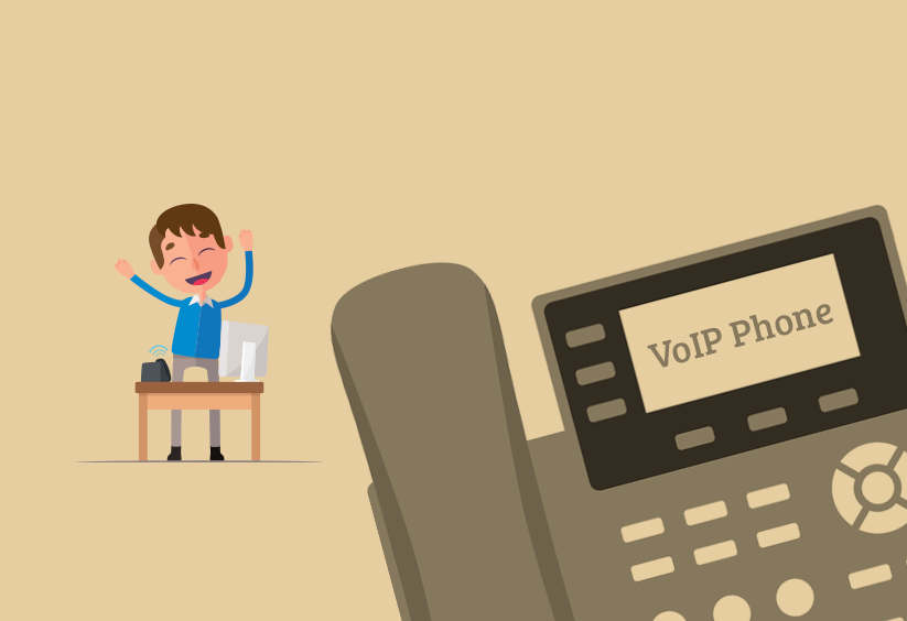 What is a VoIP phone, compared to analogue phones