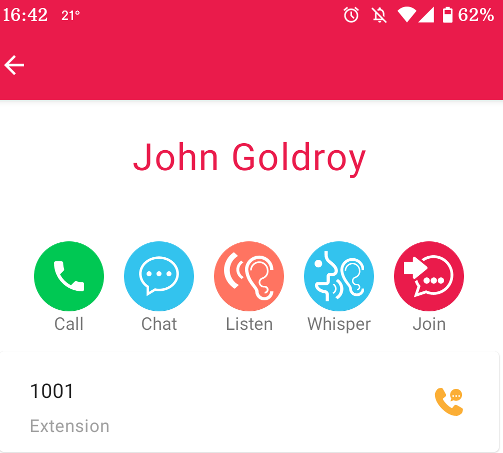 voip app call monitoring functions