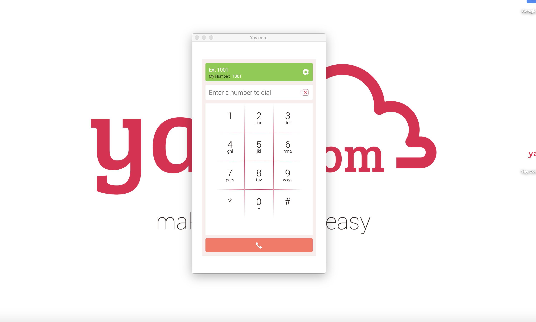 Yyou can now make calls!