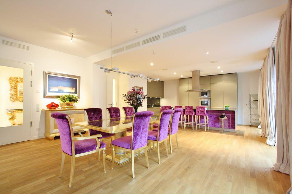 Wunderbar Elegantes Interieur Wohnung Renovierung London Galerie ...