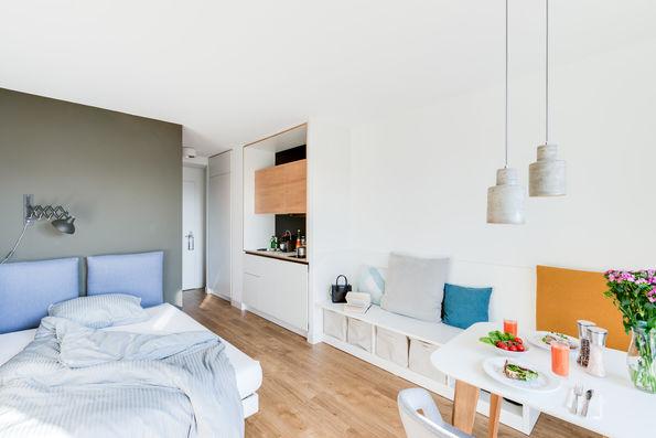 furnished apartments in berlin karlshorst. Black Bedroom Furniture Sets. Home Design Ideas