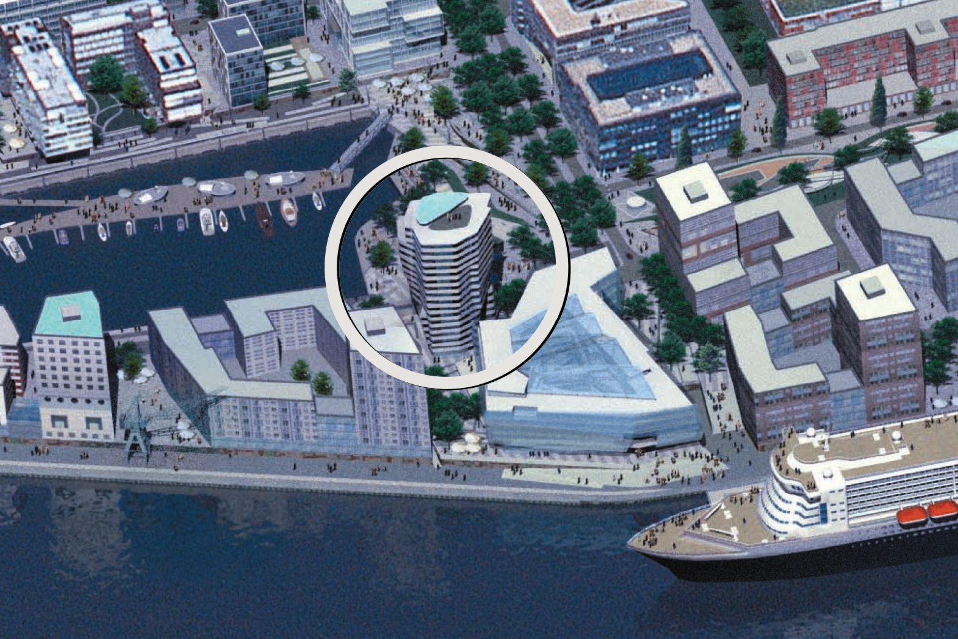 Hafencity, Marco Polo Tower, exclusive Lage, Luxus pur, Hafenblick