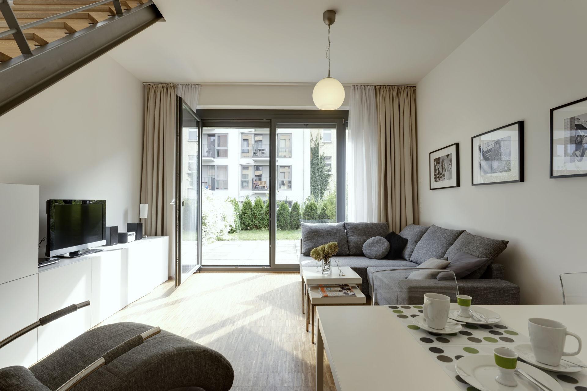 Sunny maisonette apartment in Berlin Mitte