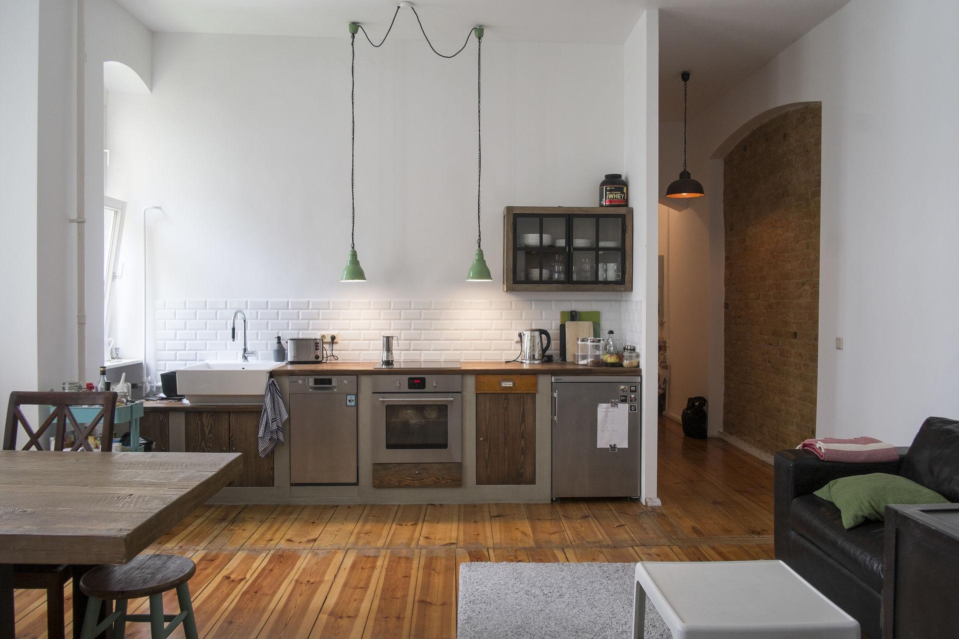 Küche Altbau design altbauwohnung nahe ku damm