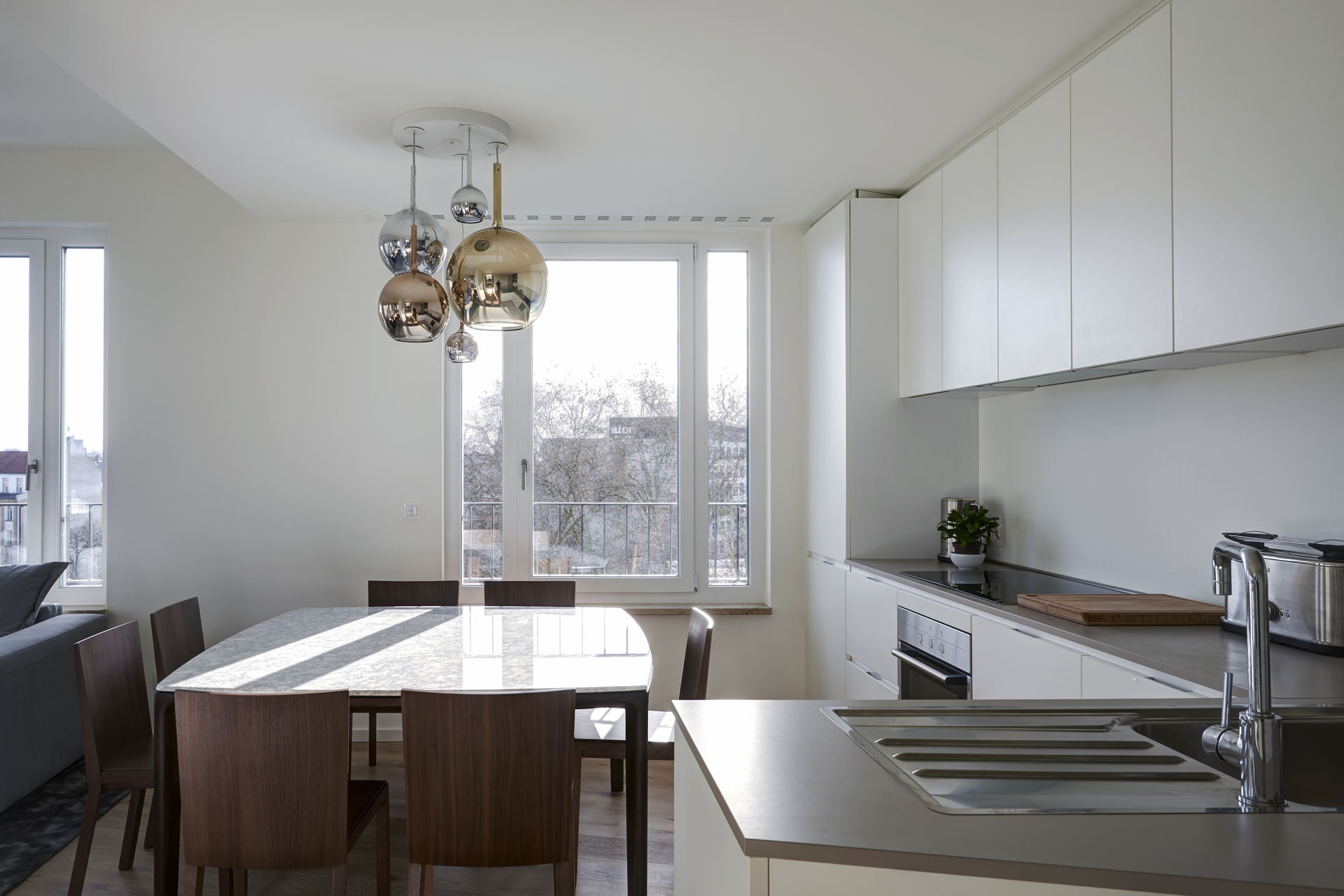 luxus penthouse im diplomaten viertel. Black Bedroom Furniture Sets. Home Design Ideas