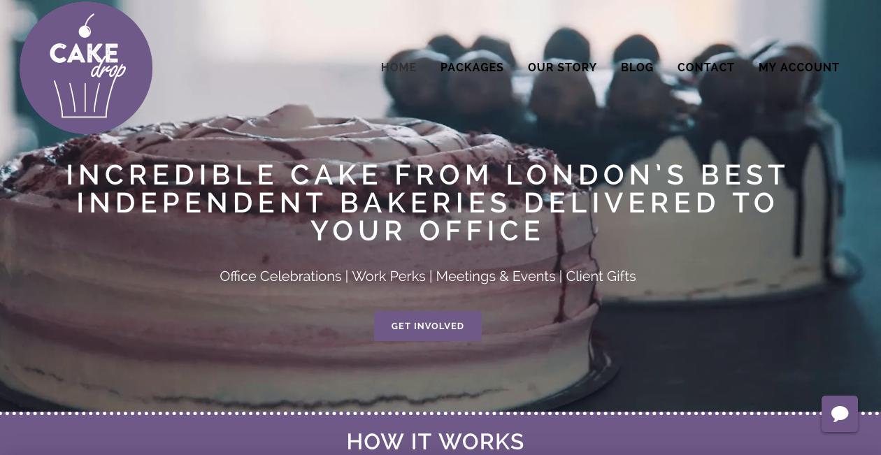 CakeDrop website