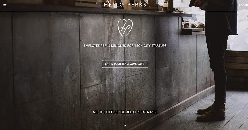 Hello Perks website