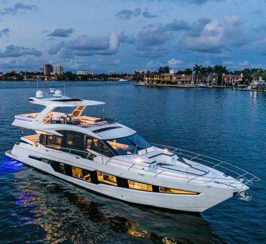 Le Galeon 680 FLY en Première au Cannes Yachting Festival
