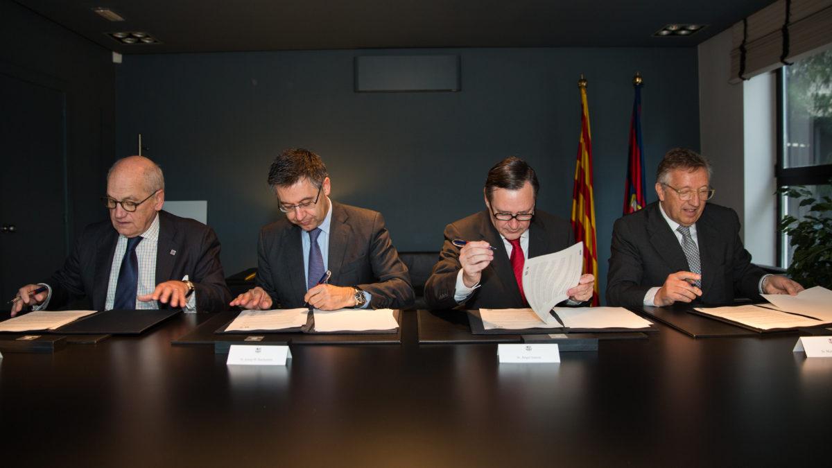 Signatura Conveni concurs de fotografia  – Despatx President
