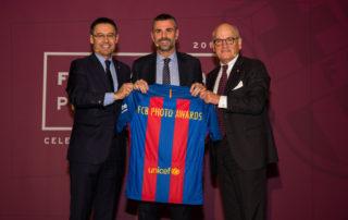 Presentació FCBarcelona Photo Awards – Convent dels Àngels                 Assistència:  President + C. Vilarrubí