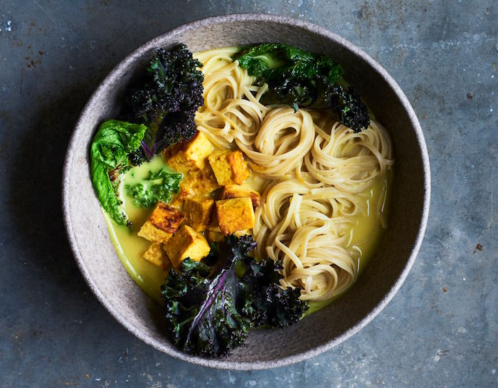 Turmeric and Miso Noodles