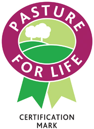Look out for the Pasture for Life certification mark.