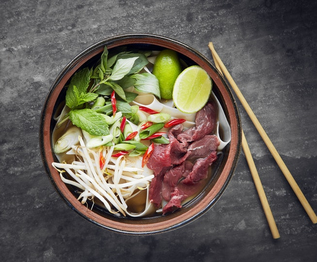 Asian recipe: Vietnamese Beef Noodle Phở