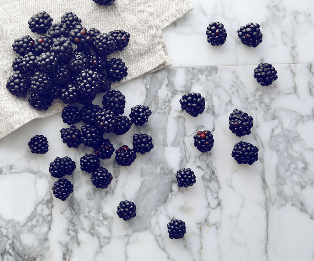 What to do with a glut of blackberries (when the weather's just too
