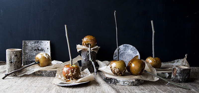 Halloween Toffee Apples Recipe