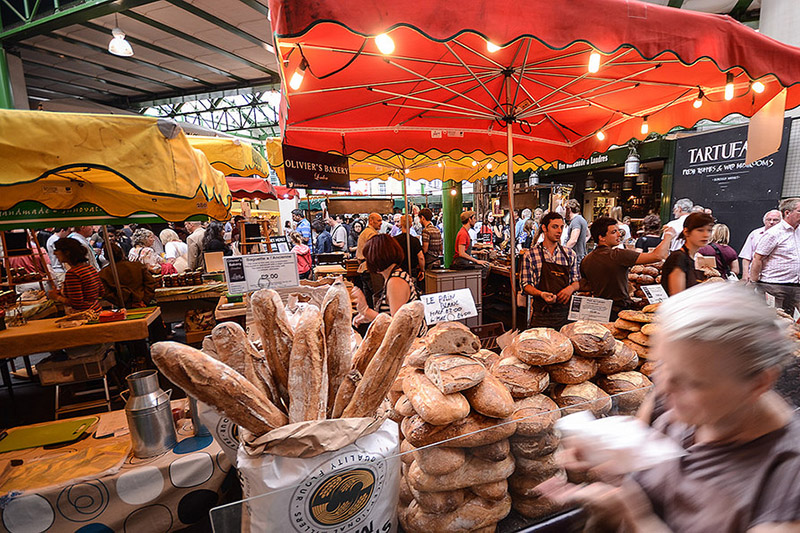 Borough Market, London. Photo via FollowYour Nose