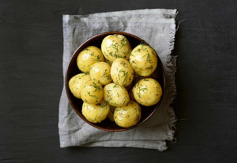 jersey boiled potatoes