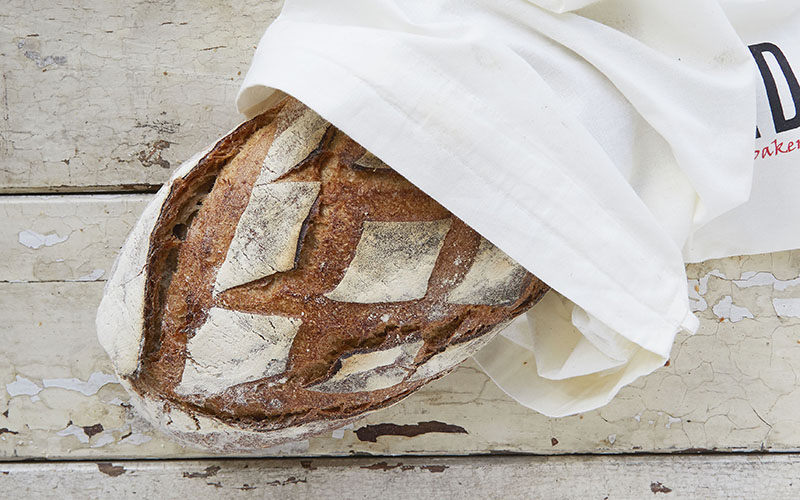 How to store bread, the sourdough kind