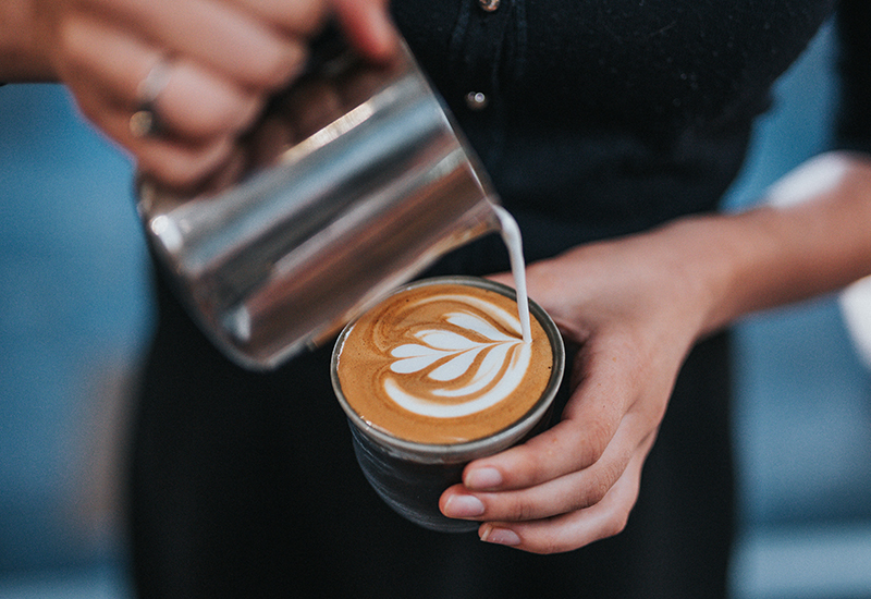 The Best Milk Alternative To Use In Coffee And Nail Latte Art