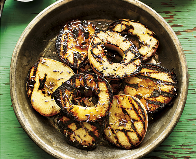 grilled peaches bbq