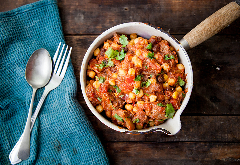 lamb chickpea stew