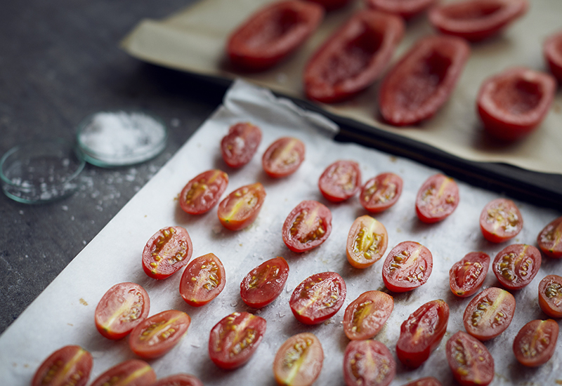 how to make sundried tomatoes